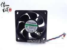 Sunon KDE1206PTV2 60mm 12V 4-pin VAPO Bearing DC Fan 3800 RPM #M441 QL