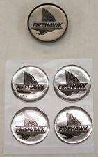 4 - 1995 SLP Pontiac FIREHAWK Logo Center Cap Inserts - NEW!