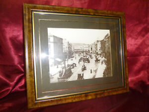 Vintage Photograph Patrick, St Cork, Ireland FRAMED Lawrence Collection 19thC