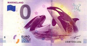 06 ANTIBES Marineland 3, 2019, Billet Euro Souvenir