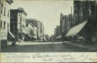 Rockford, IL 1905 Postcard: Main Street / Downtown - Illinois Ill