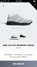 Adidas NMD CS1 ANY SIZE. White Black. BY9404. Gortex. Primeknit Pk. ultra boost