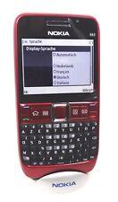 Nokia E63 Red Latin Keypad NEW SWAP ORIGINAL UNLOCKED