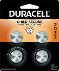 4 Pack Duracell CR2032 3 Volt Battery ECR2032 CR 2032 DL2032