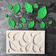Rose Leaves Silicone Fondant Cake Mold Sugar Chocolate Baking Mould Supply