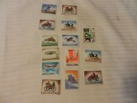 Lot of 14 San Marino Antique Cars & Planes Stamps from 1960, 1962, 1971 MNH