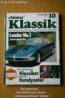 Motor Classic 10/91 Lamborghini 350 Gtv Porsche 356