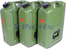 3er Juego Bidón 20L Cartucho de Combustible 20 Litros un APROBADO Diesel E85