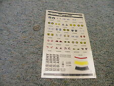 Microscale decals 1/72 72-22 US Army aircraft markings 1930-41   N36