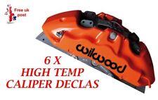 WILWOOD Brake Caliper Decal   sticker