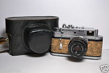ZORKI 4K Cork body Soviet/Russian 35mm Rangefinder Camera, Industar-50 (3.5/50)