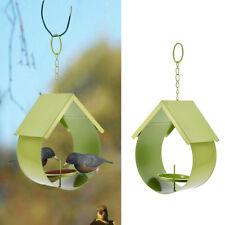 Bird Seed Feeder Feeding Port Wild Outdoor Wildlife Station Garden Hanging Decor