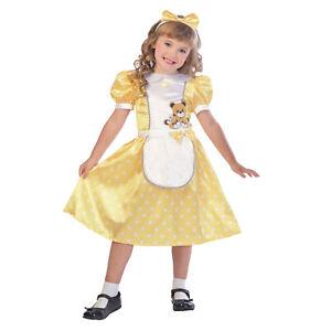 Child Goldilocks Fancy Dress Costume Fairytale Book Day Week Girls Three Bears