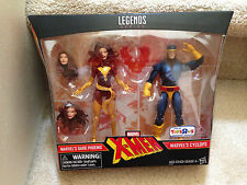 Marvel Legends X-Men DARK PHOENIX and CYCLOPS Toys R Us Excl TRU 2 Pack