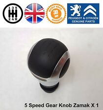 Peugeot 1007 206 207 301 307 308 407 Gear Knob Shift Stick Manual 5 Speed Black