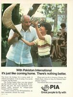 1981 Original Advertising' American Pia Pakistan International Airlines Game