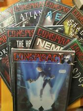 CONSPIRACY X - BUNDLE - Manuale base in ITALIANO + 8 espansioni in ING