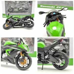 Kawasaki Z800 ZX-6R Motorcycle Diecast Toys Collection Models Gifts 1/12 Scale