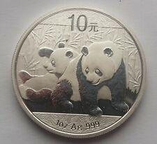 2010 Silver Chinese Panda Coin