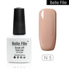 BELLE FILLE Nail Art Soak Off UV LED Gel Polish Lamp Manicure 72 Color 10ml #N05