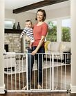 Indoor Pet Extra Wide Adjustable Barrier Pet Dog Gate Walk Thru Baby Kids Safety