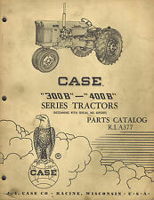 Case Vintage 300b 400b Series Tractor Parts Manual 1960 A377