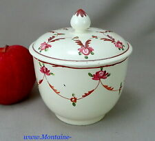 Pearlware Sugar Bowl with Swags c. 1790