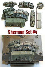 1/35 scale resin Sherman  tank Engine Deck and Stowage Sets #4 military model