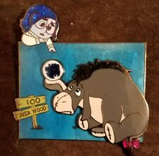 Disney Fantasy pin  INSIDE OUT Sadness and Eeyore 100 Acer Woods