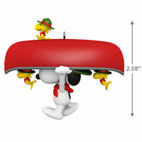 The Peanuts Gang Portaging Pals -2020 Hallmark Ornament-Snoopy / Woodstock-Canoe