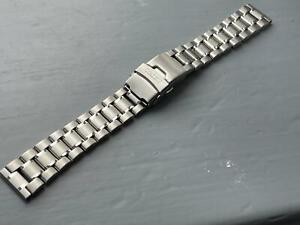 NEW 18MM STAINLESS STEEL STRAIGHT FLAT LUGS GENTS WATCH STRAP/ BAND FOR SEIKO