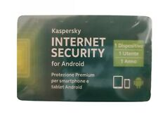 KASPERSKY INTERNET Security 2021 PER ANDROID 1 USER 1 ANNO ORIGINALE