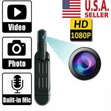 1080P HD Pocket Pen Camera Hidden Spy Mini Body Video Recorder DVR Portable USA