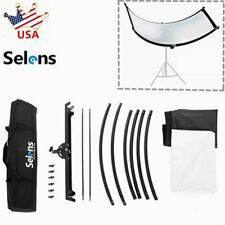 Photography Photo Studio Reflective Collapsible Curved Light Reflector Lighting