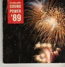 (DA626) In-Akustik Sound Power '89 - 4 track 3 inch 1989 DJ CD