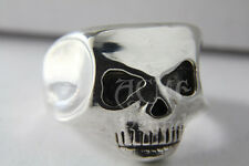 SILVER  johnny Depp skull Ring  Pirate Jack Sparrow Richards ACME Brand Original