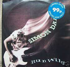 "SIMON DARLOW - Run Wild ~ 12"" Single PS"