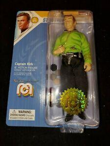 "CAPTAIN KIRK - Classic Star Trek 8"" MEGO Action Figure with Tribbles # 5018"