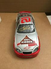 1:24 SCALE ACTION  AUTOGRAPHED KEVIN HARVICK #21 Hershey's Kisses