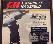 "Campbell Hausfeld Air Impact Wrench 1/2"" 1/4"" Npt"