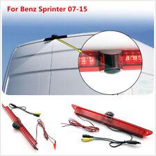 Brake Light CCD Reversing Backup Rear View Parking Cam For Benz Sprinter 07-15