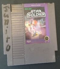 Star Soldier (Nintendo, 1989) NES GAME ! Free shipping !