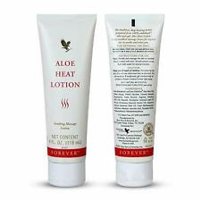 2x Forever Aloe Heat Lotion Soothing Massage Lotion 4 oz.(118ml) free ship !!