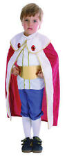 Childrens Medieval Tudor King Fancy Dress Costume Kids Outfit Toddler 2-3 Years