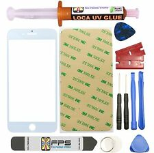 Front Outer Screen Glass Lens Replacement Loca Uv Glue iPhone 7 Plus Tool White