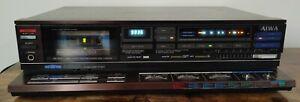AIWA AD-S40 3 HEAD Stereo Cassette Deck.
