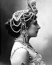 SPY MATA HARI 8X10 PHOTO 1910 WWI ESPIONAGE