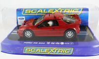 ScaleXtric Slot Car C3319 Ford RS 200 Collector Centre Track Slot Cars Set