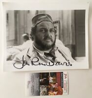 John Rhys-Davies Signed Autographed 8x10 Photo JSA Certified Indiana Jones 2