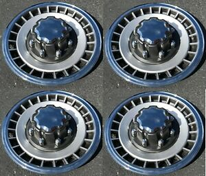 """1984-1997 FORD TRUCK F250 F350 Van E250 E350 Wheelcover 16"""" Hubcap Set NEW"""